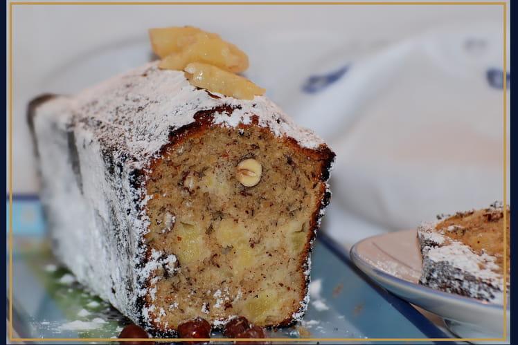 Cake ananas-noisettes