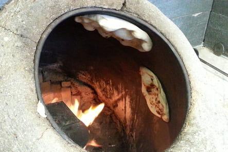 Cuisson du pain dans le taboul