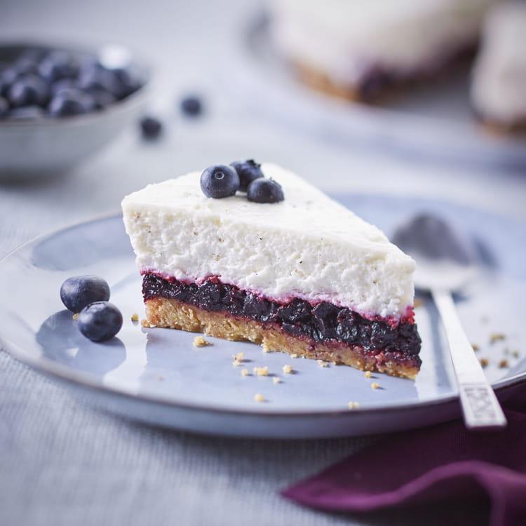 Recette de cheesecake aux myrtilles