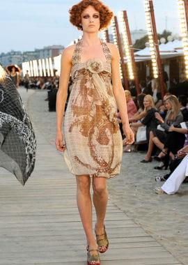 la robe imprimée de chanel
