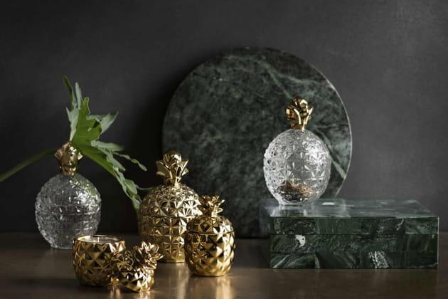 Du marbre, de l'or et du verre