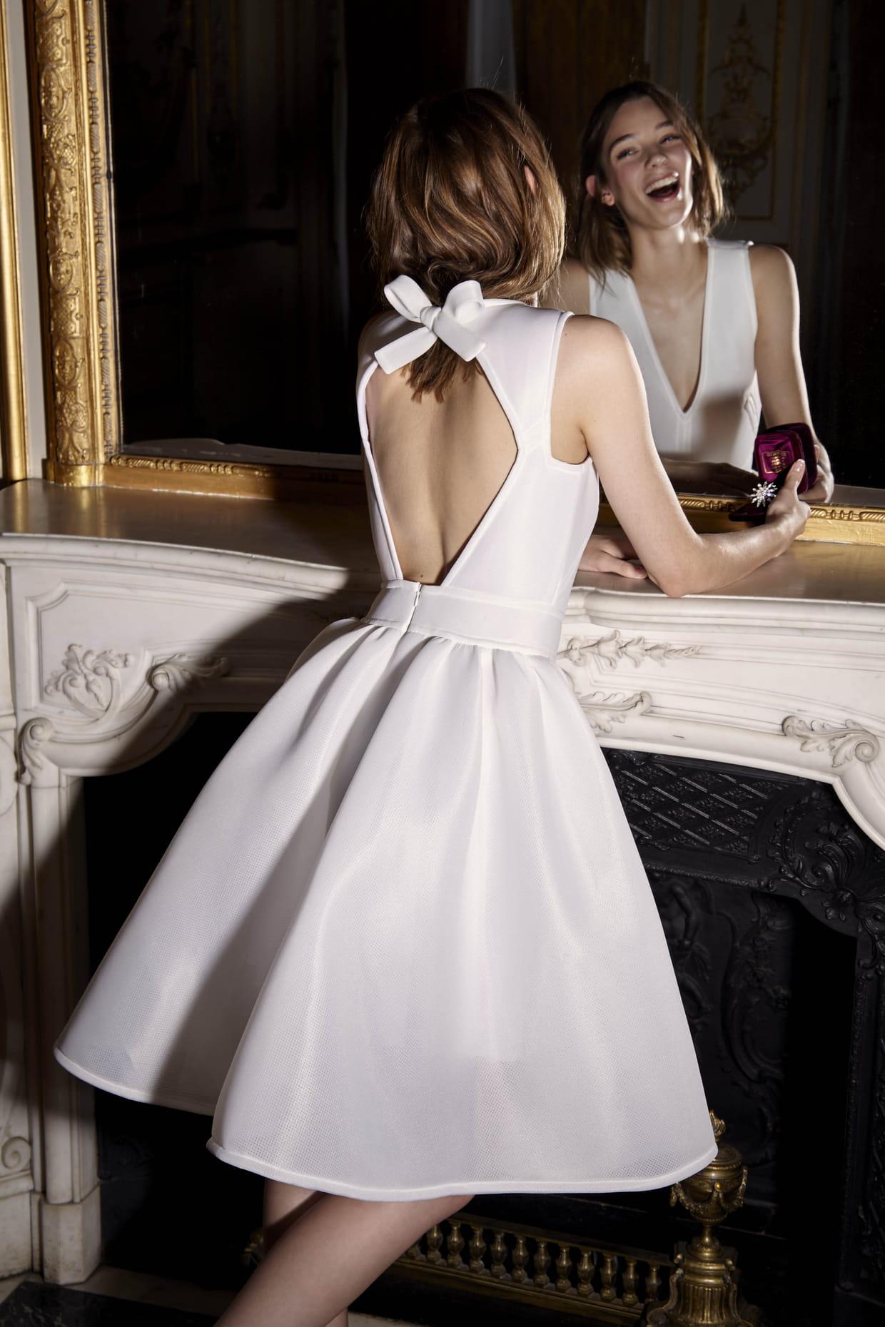 robe de mari e courte alexis mabille pour monoprix. Black Bedroom Furniture Sets. Home Design Ideas