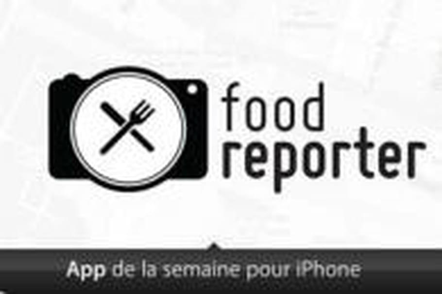 Food Reporter, élue application N°1 par Apple