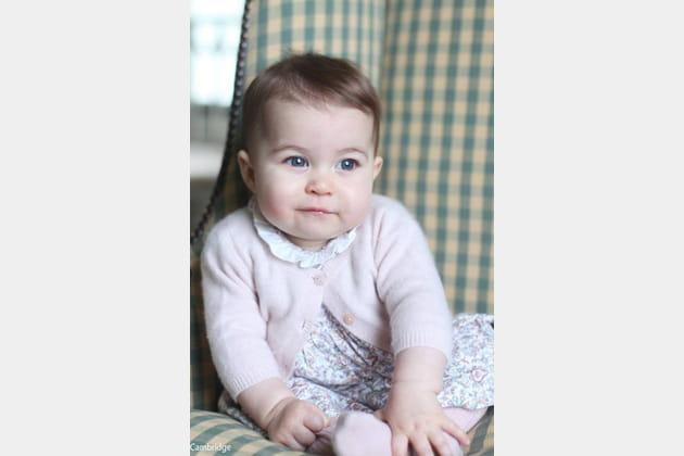 Charlotte, à 6 mois