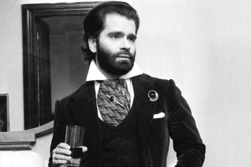 karl lagerfeld en 10 photos insolites