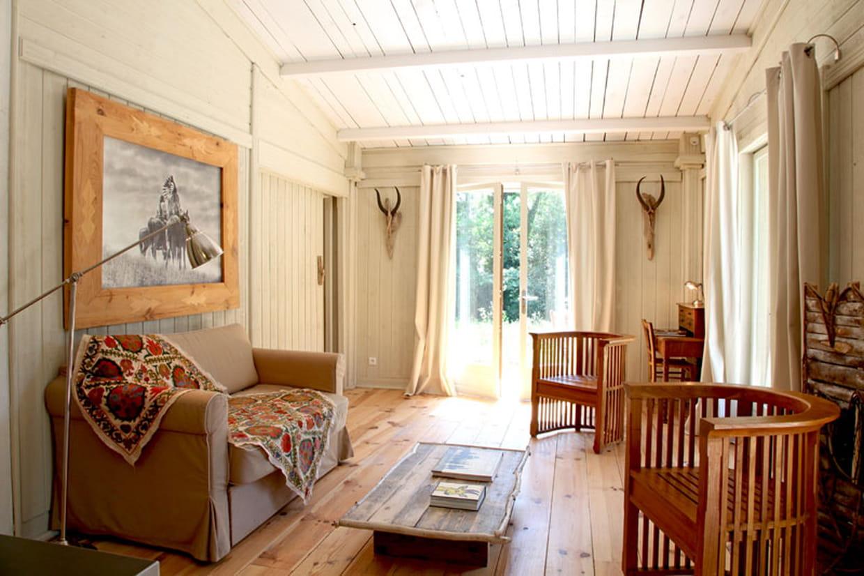 Un salon grand ouvert for Decoration salon ouvert