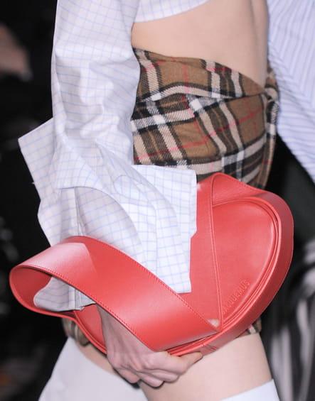 Le sac à main en cuir du défilé Jacquemus
