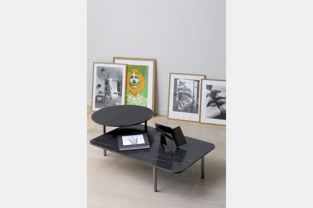 Table Bitop par Rodolfo Dordoni pour Coedition chez Silvera Bac
