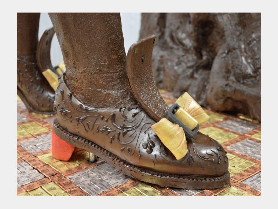 Des souliers chocolatés