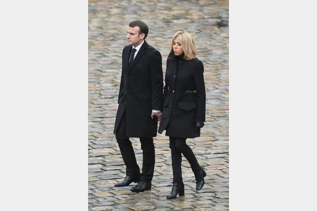 Brigitte Macron le 28mars 2018