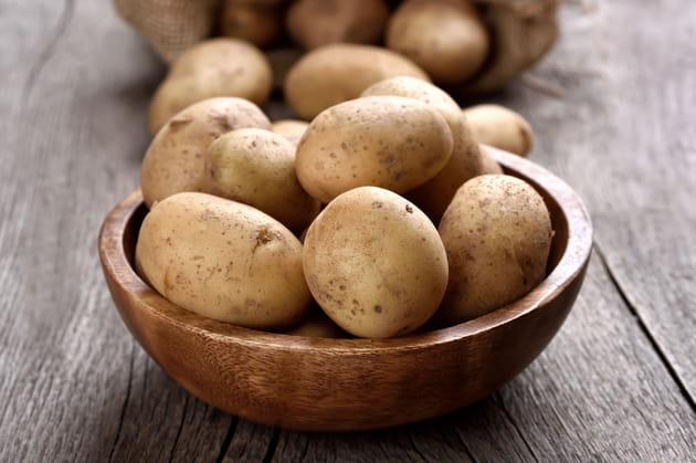 Les pommes de terre germées