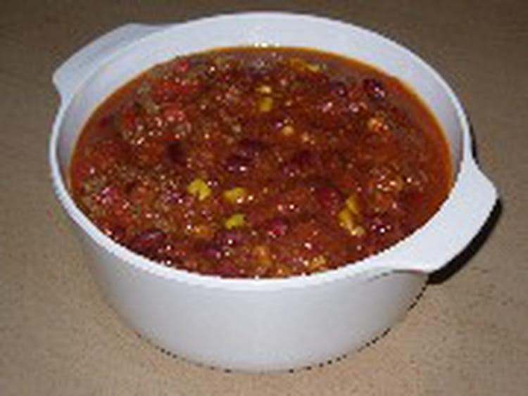 Recette de chili con carne inratable la recette facile - Recette chili cone carne thermomix ...
