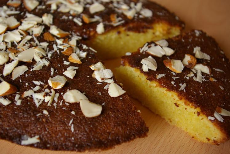 Gâteau génois aux amandes