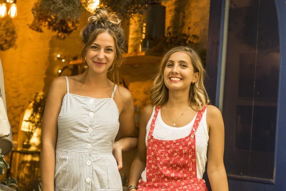 Florence et Mégan de Rosa Cadaqués, la fine fleur de l'entrepreneuriat au féminin