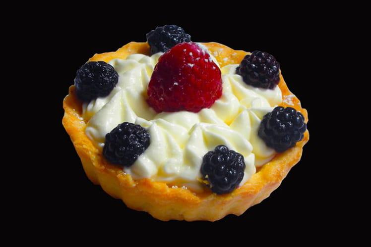 Tartelette au mascarpone et fruits rouges