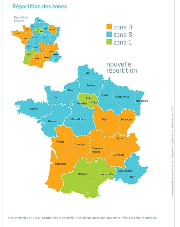 Calendrier Scolaire 2019 18 Rennes.Vacances Scolaires 2019 2020 Les Dates Selon Les Zones A