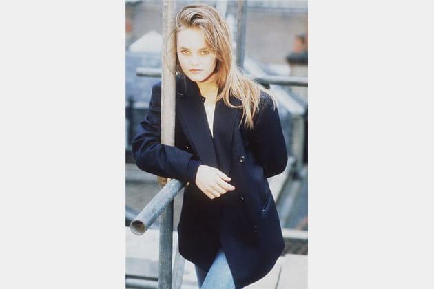 Vanessa Paradis, jean & blazer