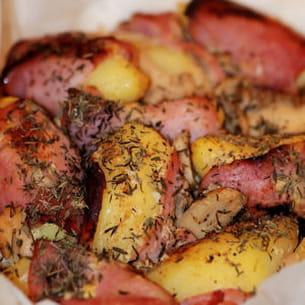 pommes de terre forestières
