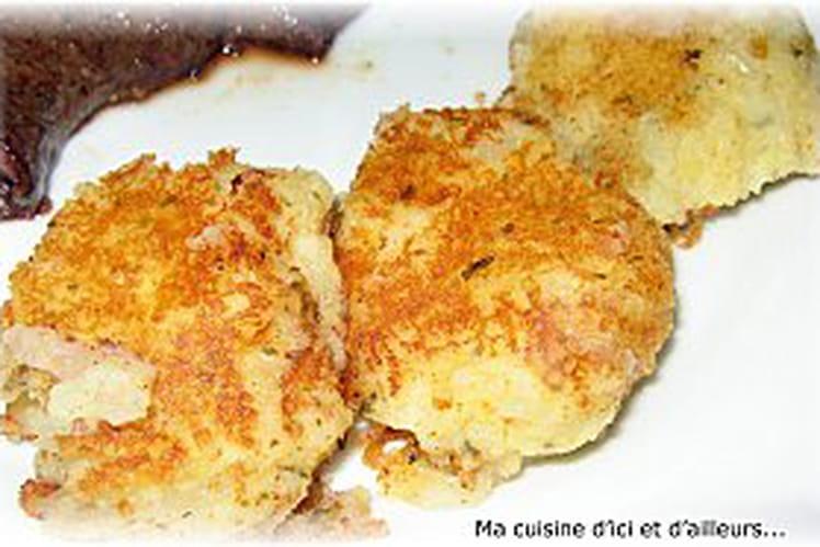 Pâtés de pommes de terre à la coriandre