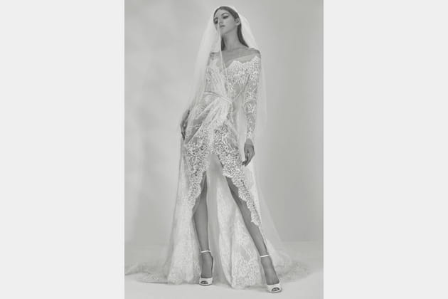 Une robe de mariée sexy