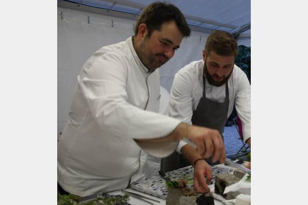 Jean-François Piège cuisine pour les réceptions de l'Ambassadeur