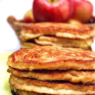 pancakes pommes-cannelle