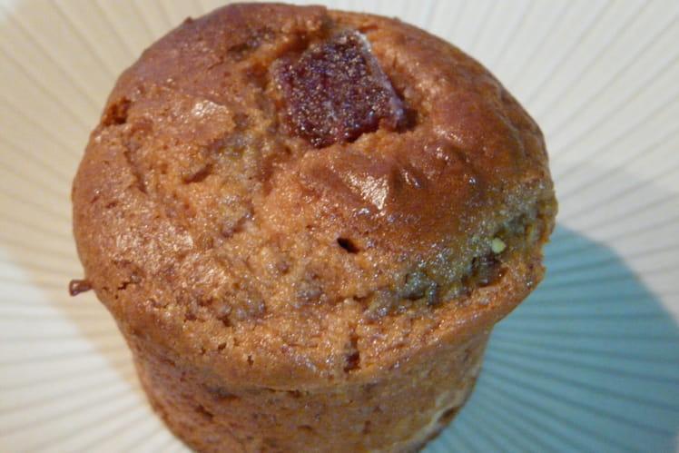 Muffins à la pâte de coing