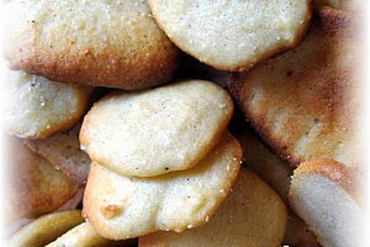 Biscuits de semoule à la vanille