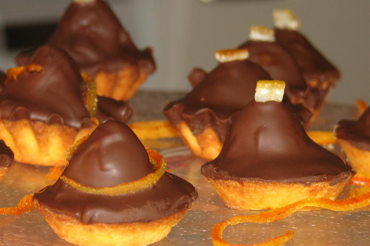 Mignardises chocolat orange