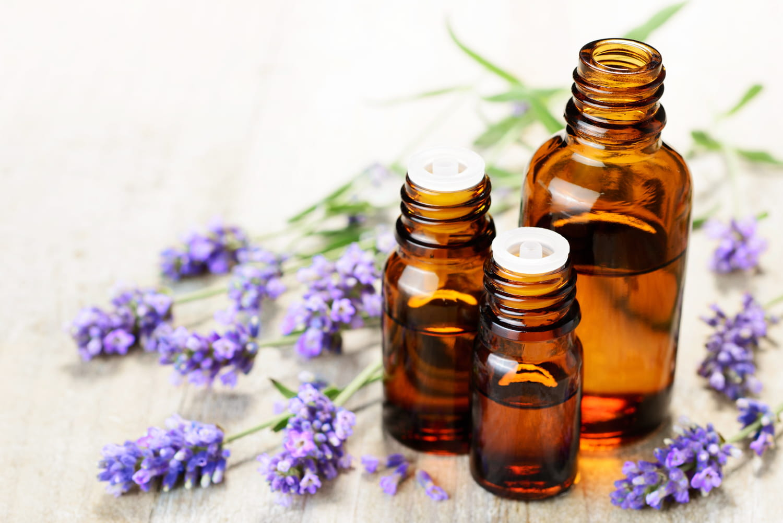 Huiles essentielles anti stress: Lavande, Camomille, Menthe