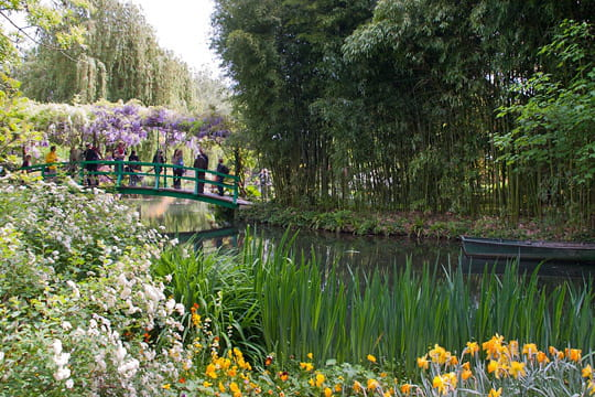 balade dans les jardins de monet giverny. Black Bedroom Furniture Sets. Home Design Ideas