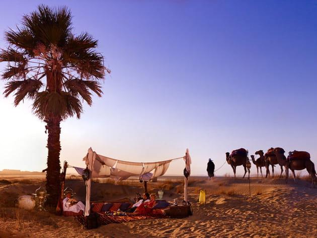 Escapade dans le désert