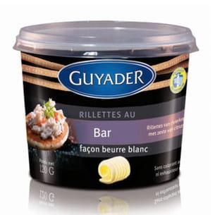 rillettes au bar façon beurre blanc