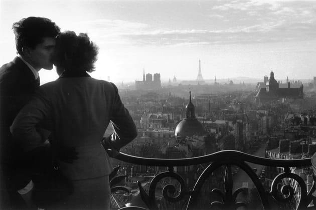 Les amoureux de la Bastille - Paris, 1957