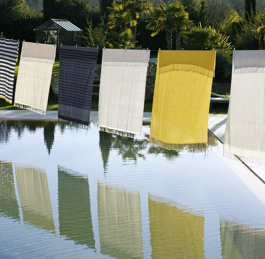 plaid helena d 39 habitat en t plaids et couvertures se font l gers l gers journal des femmes. Black Bedroom Furniture Sets. Home Design Ideas