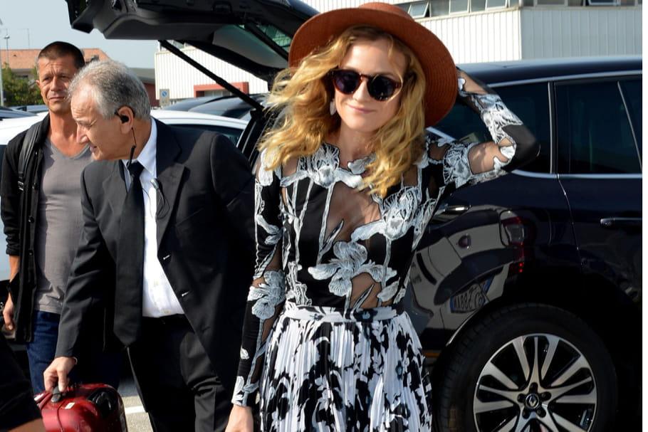 Le look people du jour : Diane Kruger, déesse vénitienne