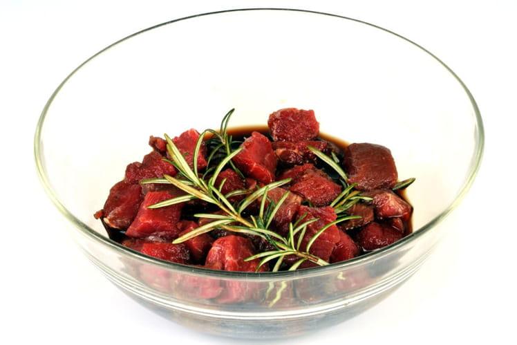 Marinade pour viandes rouges