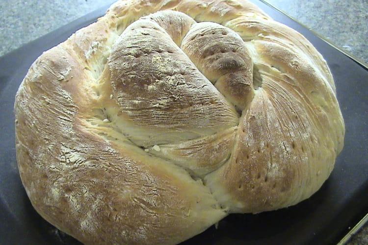Pain aux oignons à la machine à pain
