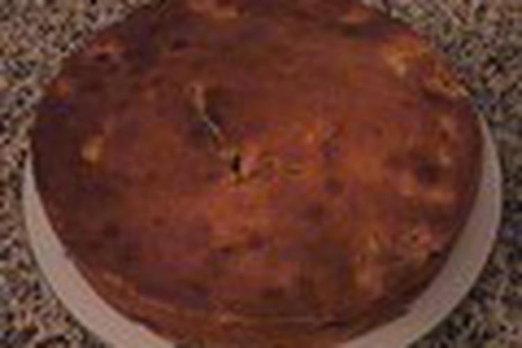 Gâteau à la banane et aux noisettes