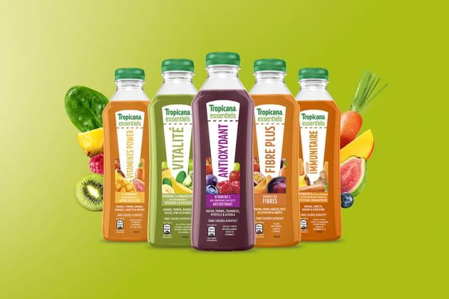 Les jus vitaminés joliment designés de Tropicana