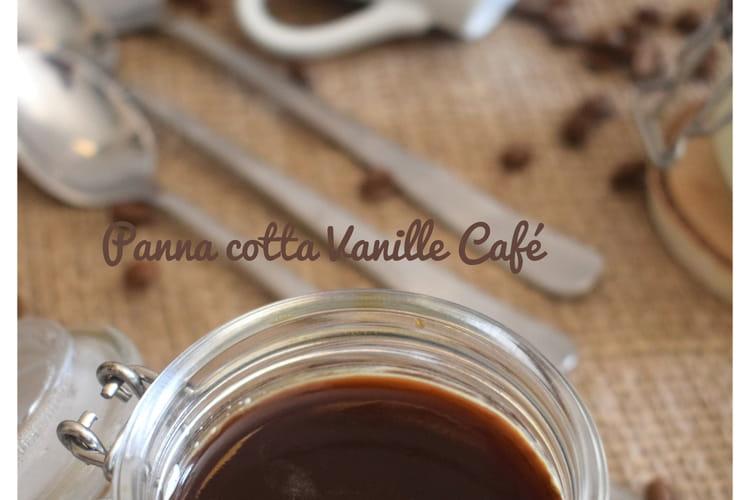 Panna cotta vanille-café