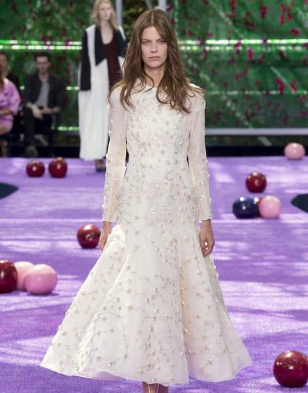 Robe de mariée Christian Dior, féminine