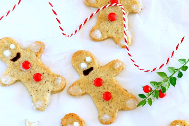 Biscuits de Noël au sucre roux