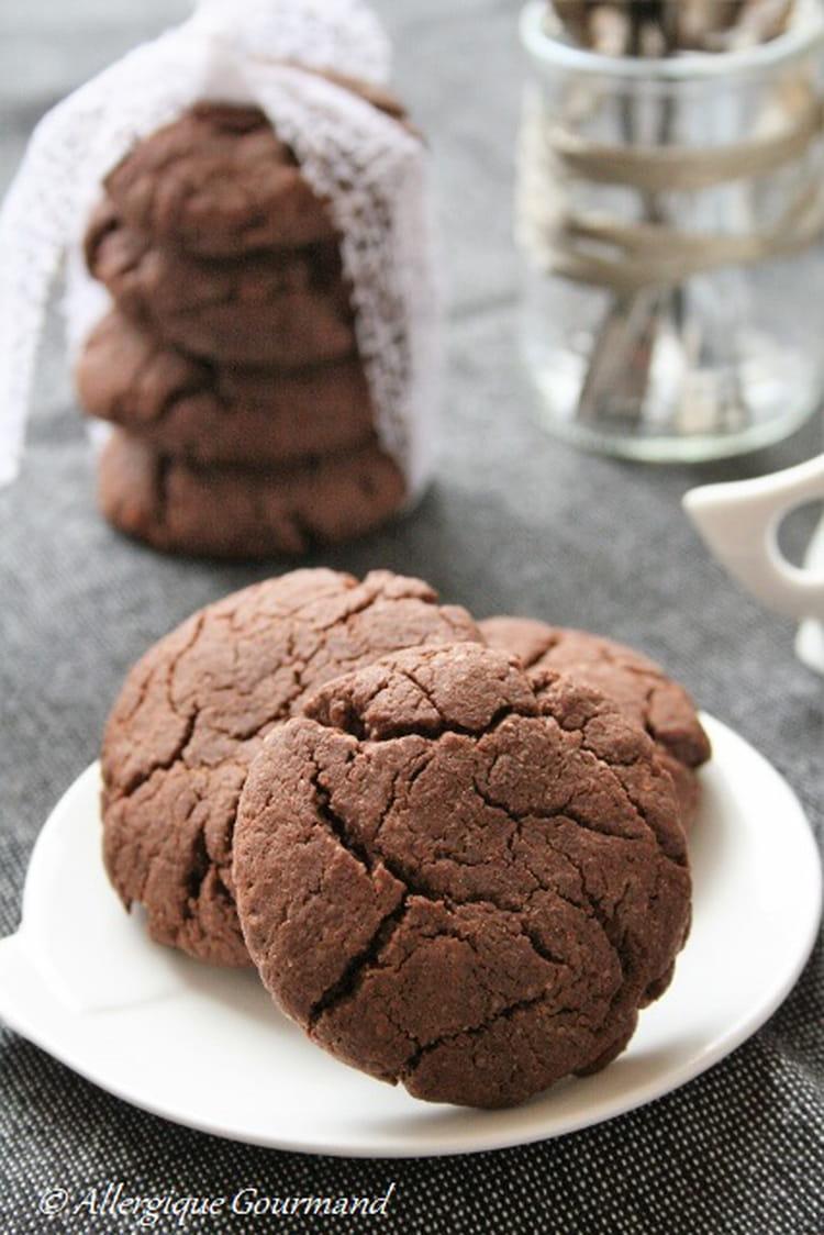 Recette de cookies au chocolat sans gluten sans lait et - Cuisinez gourmand sans gluten sans lait sans oeufs ...