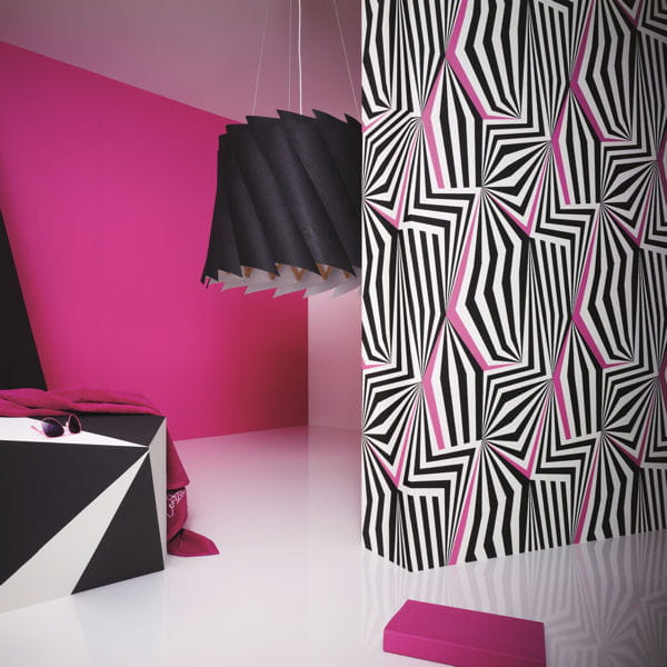 papier peint new pop 3 de montecolino. Black Bedroom Furniture Sets. Home Design Ideas