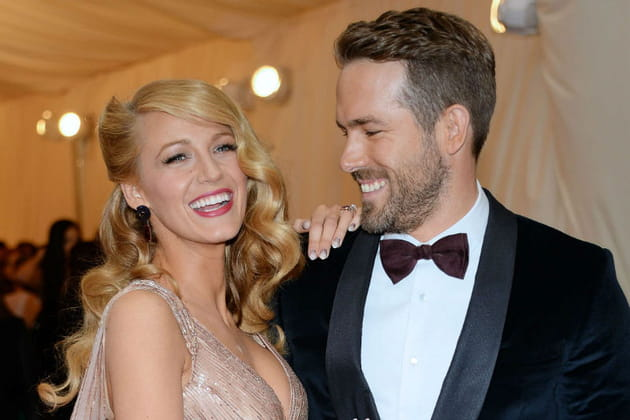 Blake Lively et Ryan Reynolds Met Ball 2014