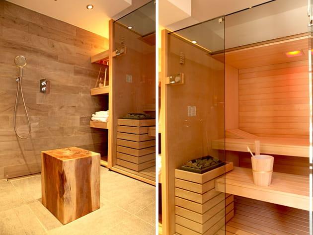 Le sauna un espace bien tre for Enlever odeur cigarette chambre