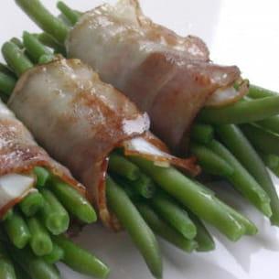 fagots de haricots au lard