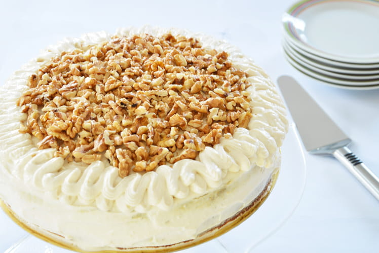 Carrot cake au sirop d'agave