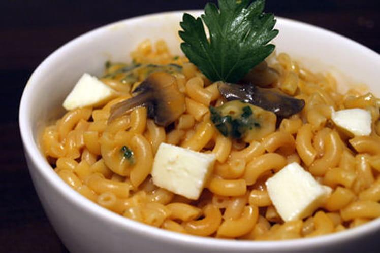 Risotto de coquillettes, tomate et mozzarella